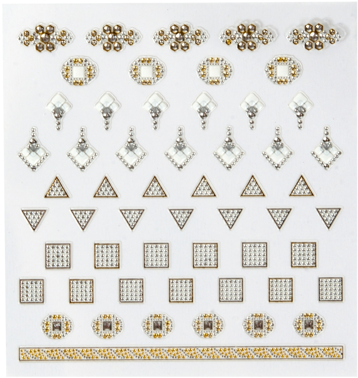Abțibilduri pentru unghii - Peggy Sage DecorativeNail Stickers Jewels (1bucată) — Imagine N1