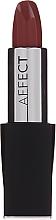 Parfumuri și produse cosmetice Satynowa szminka do ust - Affect Cosmetics Macadamia Oil Satin Lipstick