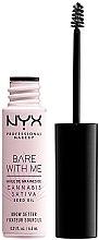 Parfumuri și produse cosmetice Gel pentru sprâncene - NYX Professional Bare With Me Hemp Brow Setter