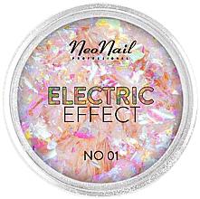 Parfumuri și produse cosmetice Glitter pentru unghii - NeoNail Professional Electric Effect Flakes
