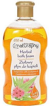 "Spumă de baie ""Eucalipt"" - Bluxcosmetics Naturaphy Herbal Bath Foam — Imagine N1"