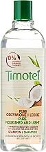 Șampon de păr - Timotei Pure Nourished and Light Shampoo With Coconut And Aloe Vera  — Imagine N3