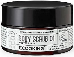 Parfumuri și produse cosmetice Scrub pentru corp 01 - Ecooking Body Scrub 01