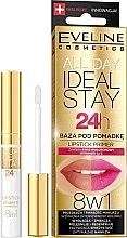 Parfumuri și produse cosmetice Bază de ruj - Eveline Cosmetics All Day Ideal Stay Lipstick Primer