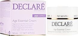 Parfumuri și produse cosmetice Cremă cu extract de bujor pentru față - Declare Age Control Age Essential Cream