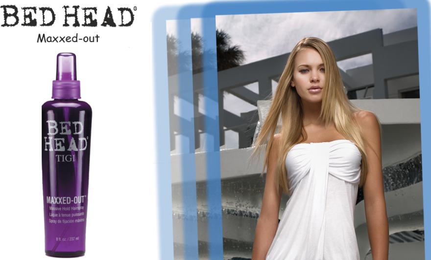Fixativ de păr fixare puternica - Tigi Bed Head Maxxed-Out Massive Hold Hairspray — Imagine N3