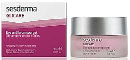 Gel pentru conturul ochilor și buzelor - SesDerma Laboratories Glycare Eye and Lip Contour Gel — Imagine N3