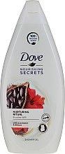 Parfumuri și produse cosmetice Gel de duș cu extract de unt de cacao și hibiscus - Dove Nourishing Secrets Shower Gel