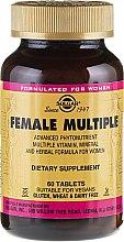 Parfumuri și produse cosmetice Supliment nutritiv - Solgar Female Multiple