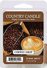 Parfumuri și produse cosmetice Ceară pentru lampă aromaterapie - Country Candle Coffee Shop Wax Melts