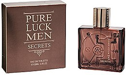 Parfumuri și produse cosmetice Linn Young Pure Luck Men Secrets - Apă de toaletă