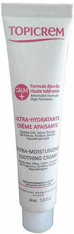Cremă calmantă ultra hidratantă de față - Topicrem Calm Ultra Moisturizing Soothing Cream — Imagine N1