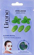 Mască exfoliantă cu alge marine și extract de mentă - Lirene Peel-Off  — Imagine N1