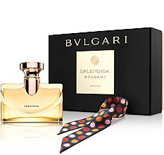 Parfumuri și produse cosmetice Bvlgari Splendida Iris D`Or - Set (edp/100ml + scarves)