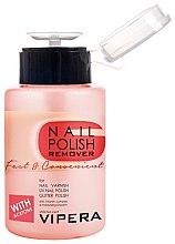 Parfumuri și produse cosmetice Soluție pentru înlăturarea lacului de unghii - Vipera Fast & Convenient Nail Polish Remover