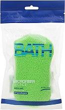 Parfumuri și produse cosmetice Burete de baie, verde - Suavipiel Microfiber Bath Sponge Extra Soft