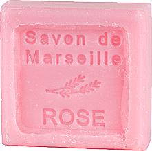 """Parfumuri și produse cosmetice Săpun de Marsilia """"Trandafir"""" - Le Chatelard 1802 Soap Savon De Marseille Rose"""