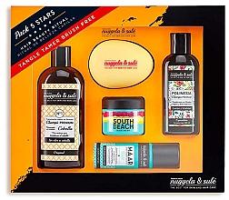Parfumuri și produse cosmetice Set - Nuggela & Sule` Set (shm/100ml + shm/250ml + mask/50ml + h/spray/53ml + brush)