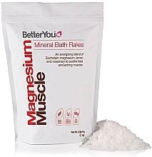 Parfumuri și produse cosmetice Fulgi pentru baie - BetterYou Magnesium Mineral Bath Flakes Lemon Rosemary