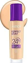 Parfumuri și produse cosmetice Fond de ten pentru față - Astor Perfect Stay Foundation 24h + Primer SPF20