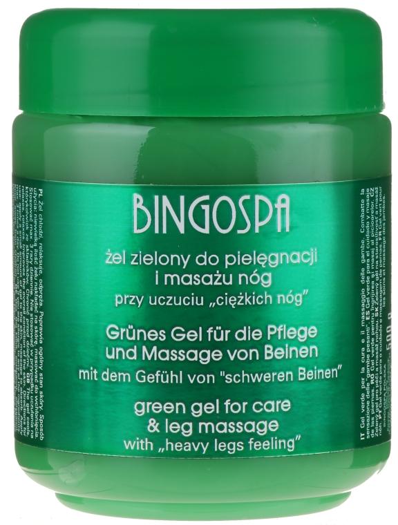 Gel pentru picioare - BingoSpa Green Gel
