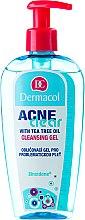 Parfumuri și produse cosmetice Gel pentru demachiere și curățare a pielii problematice - Dermacol Acne Clear Make-Up Removal & Cleansing Gel