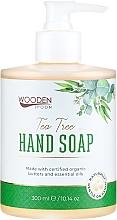 """Parfumuri și produse cosmetice Săpun lichid """"Arbore de ceai"""" - Wooden Spoon Tea Tree Hand Soap"""