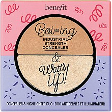 Parfumuri și produse cosmetice Concealer-iluminator - Benefit Cosmetics Boi-ing & Watt's up!