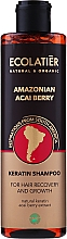 """Parfumuri și produse cosmetice Șampon cu keratină pentru păr """"Acai Berries"""" - Ecolatier Amazonian Acai Berry Shampoo"""