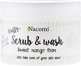 """Parfumuri și produse cosmetice Spumă peeling cu efect de curățare """"Mango"""" - Nacomi Scrub and Wash Sweet Mango Foam"""