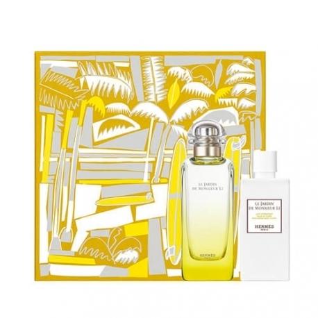 Hermes Le Jardin de Monsieur Li - Set (edt/100ml + b/lot/80ml) — Imagine N1