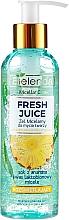 Parfumuri și produse cosmetice Gel de curățare pentru față - Bielenda Fresh Juice Micellar Gel Pineapple