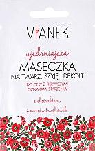 Parfumuri și produse cosmetice Mască antirid pentru față, gât și decolteu - Vianek
