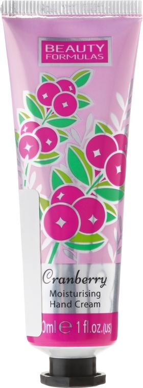 Cremă de mâini - Beauty Formulas Cranberry Moisturising Hand Cream