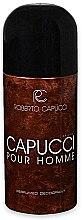 Parfumuri și produse cosmetice Roberto Capucci Capucci Pour Homme - Deodorant-spray