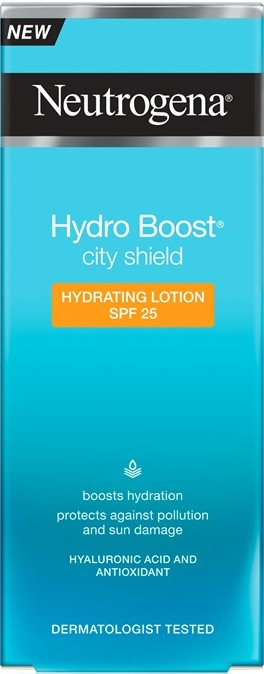 Cremă hidratantă SPF 25 - Neutrogena Hydro Boost City Shield Hydrating Lotion SPF 25 — Imagine N2
