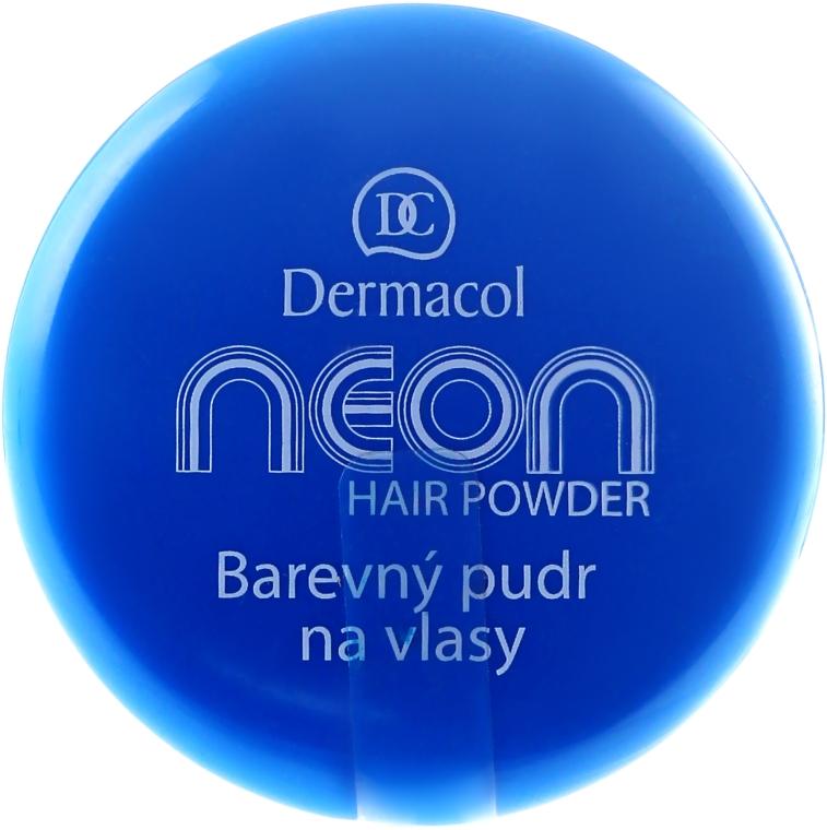 Pudra pentru păr - Dermacol Neon Hair Powder