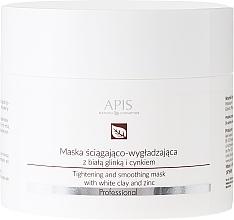 Parfumuri și produse cosmetice Mască cu argilă albă pentru față - APIS Professional Tightening And Smoothing Mask