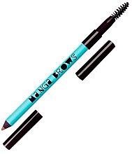 Parfumuri și produse cosmetice Creion cu două capete pentru sprâncene - Neve Cosmetics Manga Brows