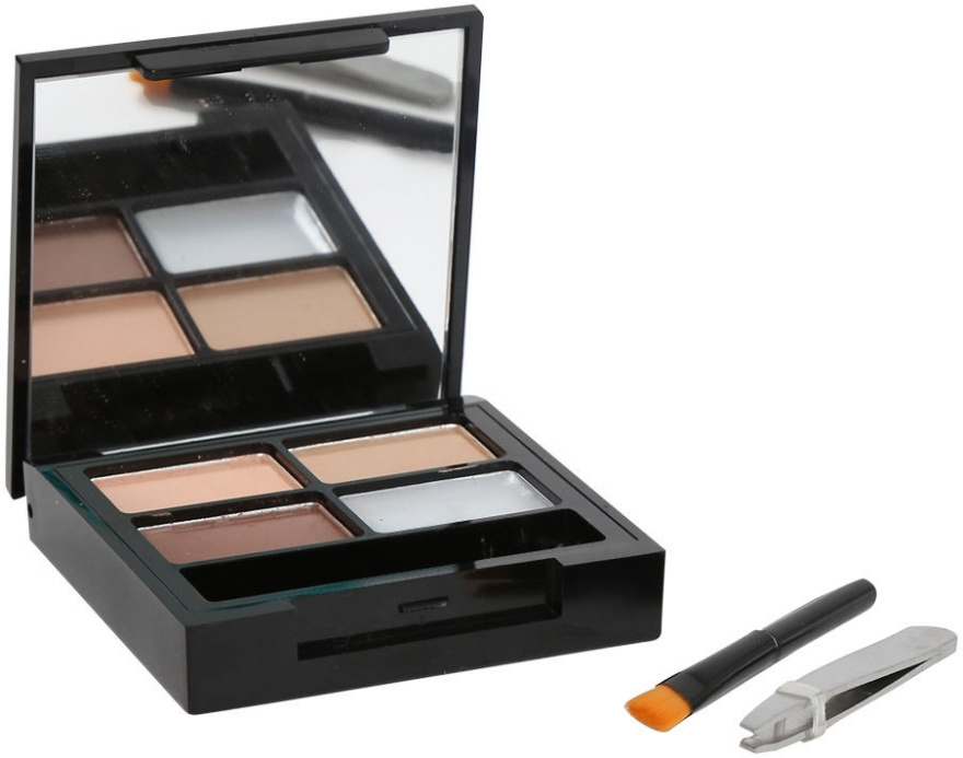 Set pentru sprâncene - Makeup Revolution Focus & Fix Brow Kit