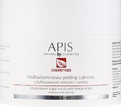 Parfumuri și produse cosmetice Peeling multivitaminic de zahăr pentru față - APIS Professional Cheery Kiss