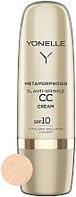 Parfumuri și produse cosmetice Cremă CC antirid SPF 10 - Yonelle Metamorphosis D3 Anti Wrinkle CC Cream SPF10