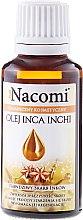 Parfumuri și produse cosmetice Ulei Inca Inchi pentru față și corp - Nacomi Olej Inca Inchi Odbudowa Kolagenu Skóry