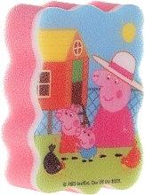 """Parfumuri și produse cosmetice Burete de baie pentru copii """"Peppa Pig"""", Vară - Suavipiel Peppa Pig Bath Sponge"""