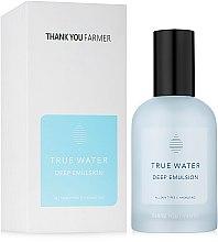 Parfumuri și produse cosmetice Emulsie profund hidratantă pentru față - Thank You Farmer True Water Deep Emulsion