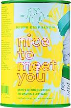 Parfumuri și produse cosmetice Set - Drunk Elephant Nice to Meet You (cr/15ml + clean/22g + boost/1g)