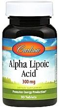 Parfumuri și produse cosmetice Acid alfa lipoic, 300 mg - Carlson Labs Alpha Lipoic Acid