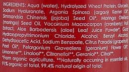 Balsam spray cu extract de afine pentru păr - Uoga Uoga Hair Spray With Cranberry Extract — Imagine N3