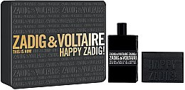 Parfumuri și produse cosmetice Zadig & Voltaire This is Him - Set (edt/100ml + purse)