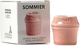 Parfumuri și produse cosmetice Suport periuță de dinți, roșu - NaturBrush Sommier Toothbrush Holder